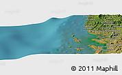 "Satellite Panoramic Map of the area around 13°55'11""S,47°40'29""E"