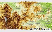 Physical 3D Map of Beanantsindrana