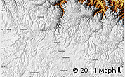 Physical Map of Macusani