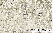 Shaded Relief Map of Macusani