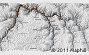 """Physical 3D Map of the area around 13°55'11""""S,72°10'30""""W"""