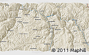 """Shaded Relief 3D Map of the area around 13°55'11""""S,72°10'30""""W"""