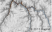 """Physical Map of the area around 13°55'11""""S,72°10'30""""W"""