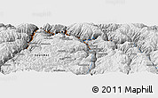 """Physical Panoramic Map of the area around 13°55'11""""S,72°10'30""""W"""