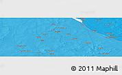 Political Panoramic Map of Sara Koyra