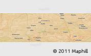 Satellite Panoramic Map of Sara Koyra
