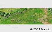 "Satellite Panoramic Map of the area around 14°15'49""N,105°28'29""E"