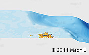 """Political Panoramic Map of the area around 14°15'49""""N,124°10'30""""E"""
