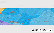 Political Panoramic Map of Djibo