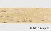 Satellite Panoramic Map of Djibo