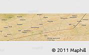 Satellite Panoramic Map of Bargo