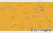 Political 3D Map of Wad Madanī