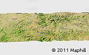 Satellite Panoramic Map of Enda Mariam Goresa