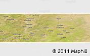 "Satellite Panoramic Map of the area around 14°15'49""N,6°43'29""W"