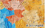 Political Map of Comayagua