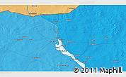 Political 3D Map of Ayorou