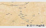 Satellite 3D Map of Ayorou