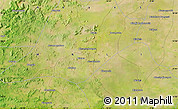 """Satellite Map of the area around 14°46'42""""N,10°7'30""""W"""
