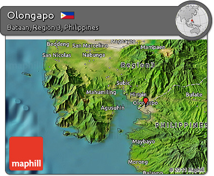 Olongapo Philippines Map.Free Satellite 3d Map Of Olongapo