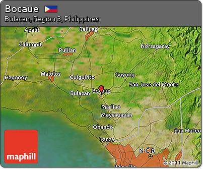Free Satellite D Map Of Bocaue - Bocaue map