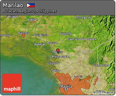 Free Satellite D Map Of Marilao - Marilao map