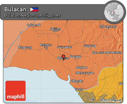 Free Political Map Of Bulacan