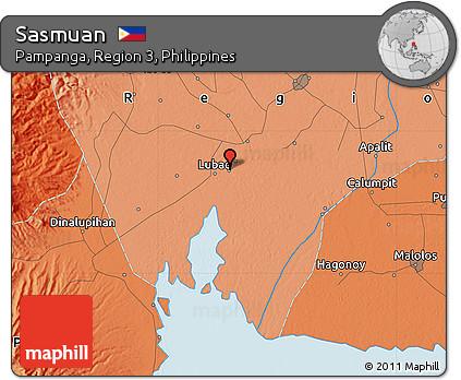 free political map of sasmuan