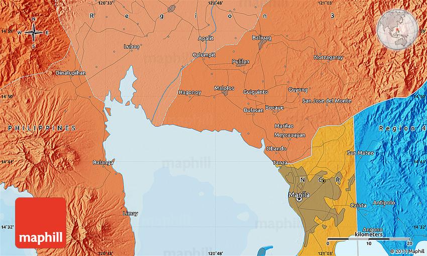 Political Map of Quezon City