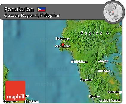 Free Satellite Map of Panukulan