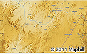 """Physical Map of the area around 14°46'42""""N,37°28'30""""E"""
