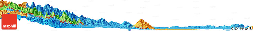 "Political Horizon Map of the Area around 14° 46' 42"" N, 40° 1' 29"" E"