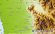 Physical Map of Bi'r az Zāwiyah