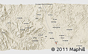 Shaded Relief 3D Map of Dhamār