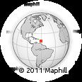 Outline Map of Saint-Pierre, rectangular outline