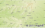 Physical Map of Keïta