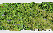 """Satellite 3D Map of the area around 14°46'42""""N,87°28'29""""W"""