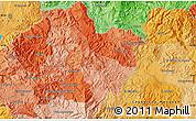 Political Map of El Zapote