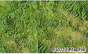 """Satellite Map of the area around 14°46'42""""N,87°28'29""""W"""