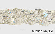 "Shaded Relief Panoramic Map of the area around 14° 46' 42"" N, 88° 19' 29"" W"
