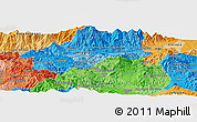 """Political Panoramic Map of the area around 14°46'42""""N,90°1'30""""W"""