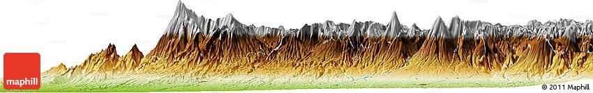 Physical Horizon Map of Retalhuleu
