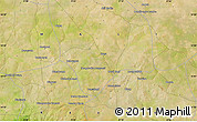 """Satellite Map of the area around 14°46'42""""N,9°16'30""""W"""