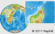 Physical Location Map of Bealanana