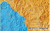 Political Map of Andapa