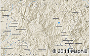 Shaded Relief Map of Andapa