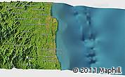 Satellite 3D Map of Sambava