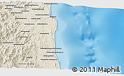 Shaded Relief 3D Map of Sambava