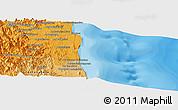 Political Panoramic Map of Sambava