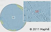 Savanna Style Location Map of Fakatopatere, hill shading