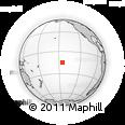 Outline Map of Fakatopatere, rectangular outline